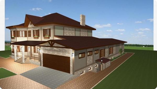как пристроить гараж к деревянному дому