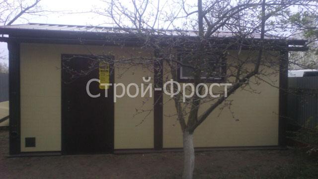 Гараж в заборе для Степана Александровича