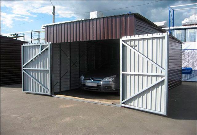 Каркас гаража из металлического профиля купить в купить гараж в кемерово на фпк кемерово