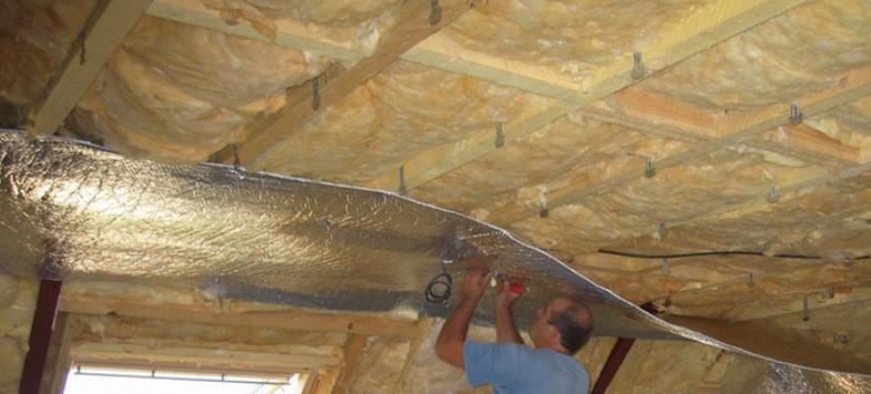 утепление гаража из бетона