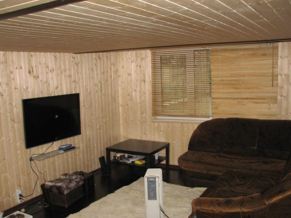 комната в гараже