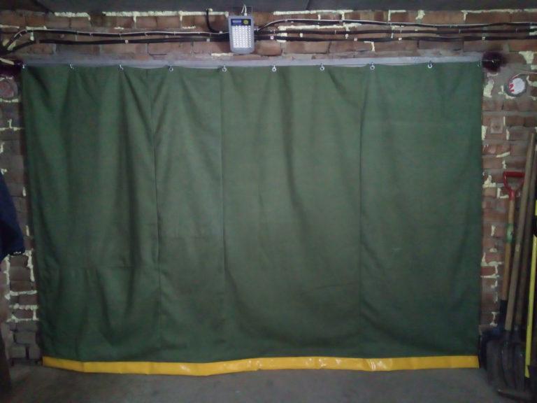 шторы для гаража