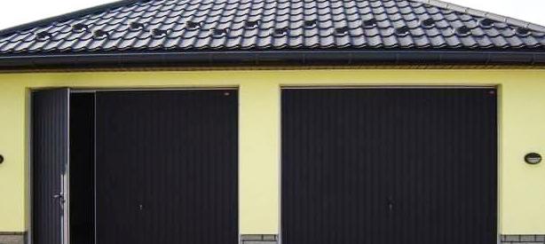 ворота для гаража из профлиста