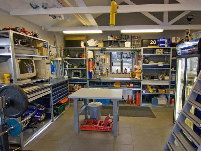 как оборудовать мастерскую в гараже