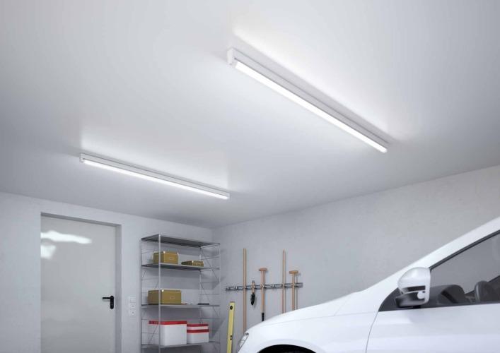 как сделать освещение гаража