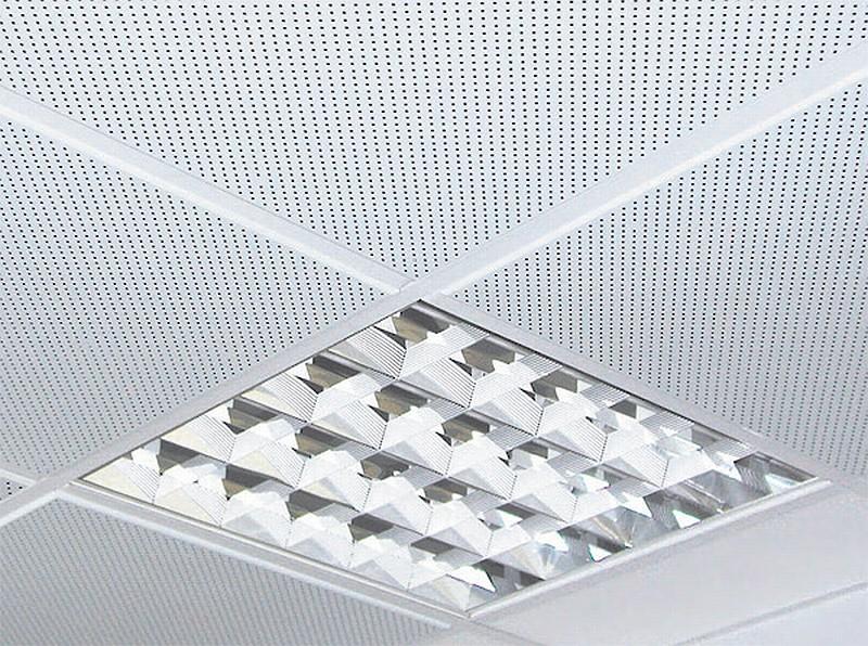 металлический потолок в гараже