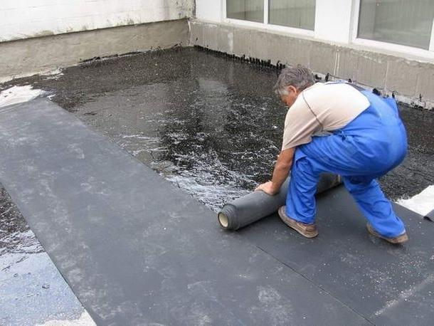 рубероид для ремонта крыши