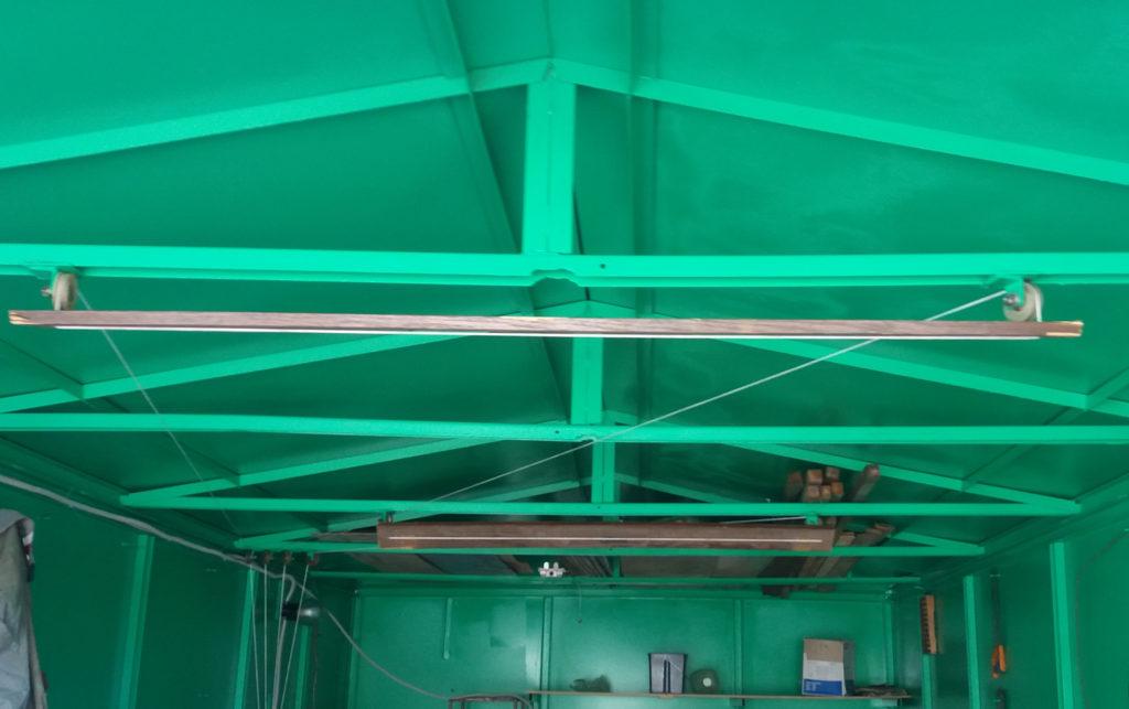 Хранение лодок ПВХ в гараже