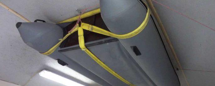 Хранение лодок ПВХ в гараже зимой