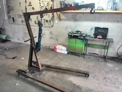Кран гаражный гидравлический