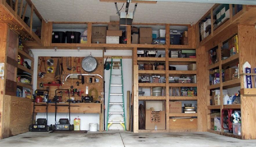Мебель для гаража своими руками